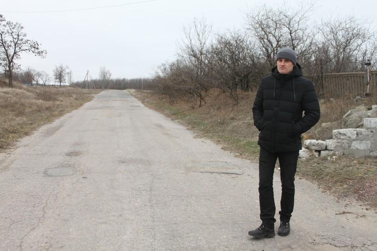 Замглавы Зайцево Владислав Черкашин
