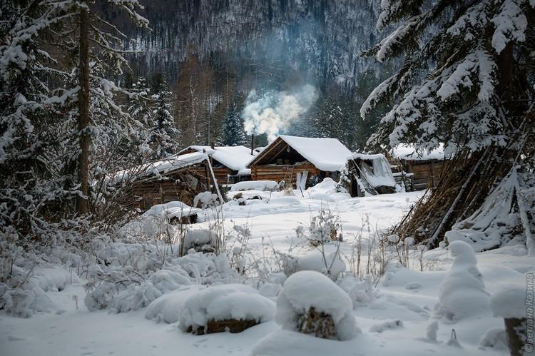 Таежный тупик Агафьи. Фото: Светлана КАЗИНА.