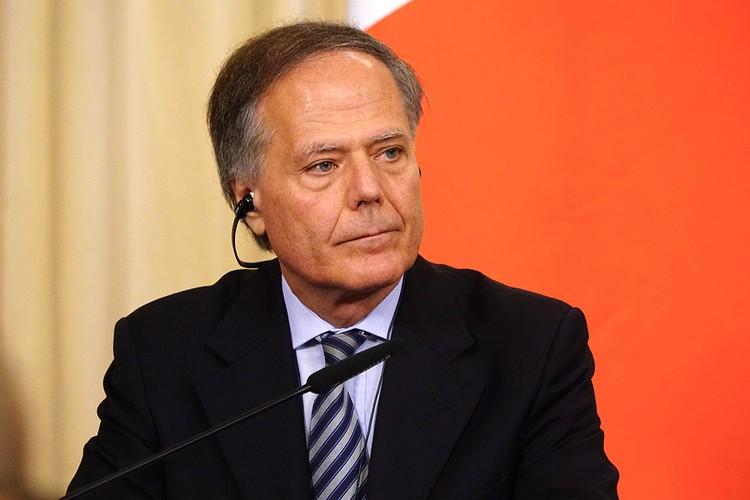 Глава МИД Италии Энцо Моаверо-Миланези.