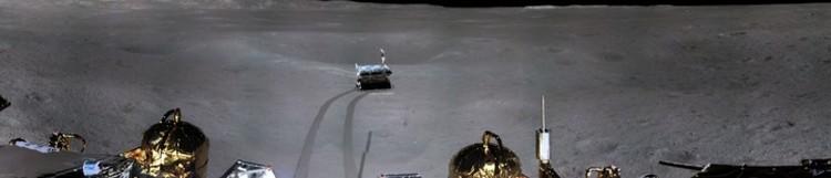 «Юйту-2», попавший на панораму.
