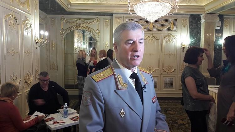 Генерал-лейтенант МВД Владимир Дмитрин родом из южноуральской Березовки.