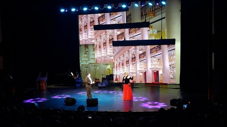 Солист Большого театра Михаил Губский и его челябинская коллега Наталья Заварзина порадовали зрителей дуэтом из оперы «Сильва».