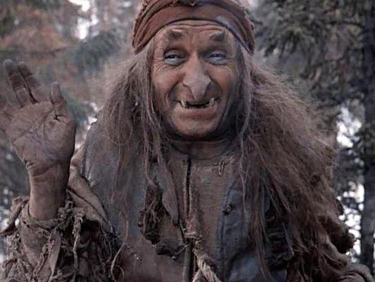 """Имя Бабы-Яги (не сказочной, а мифологической) восходит к слову """"ягла"""" - мертвечина. Фото: кадр из фильма"""