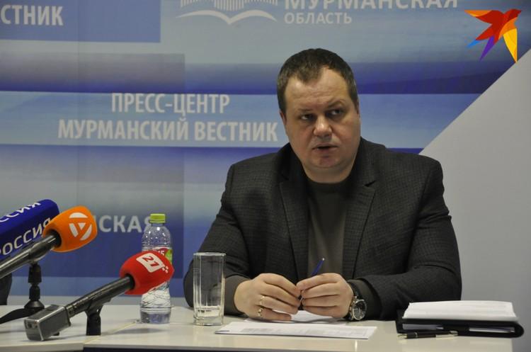 .Директор мурманского филиала АО «Управление отходами» Андрей Петров.