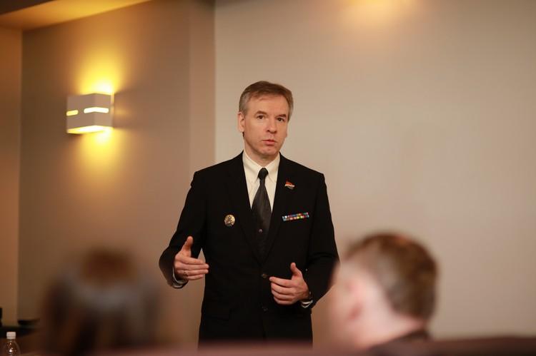 Член совета директоров колхоза «Восток-1» Александр Передня. Фото: Вадим ПОПОВ