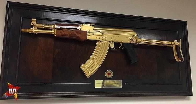 Золотой автомат Саддама