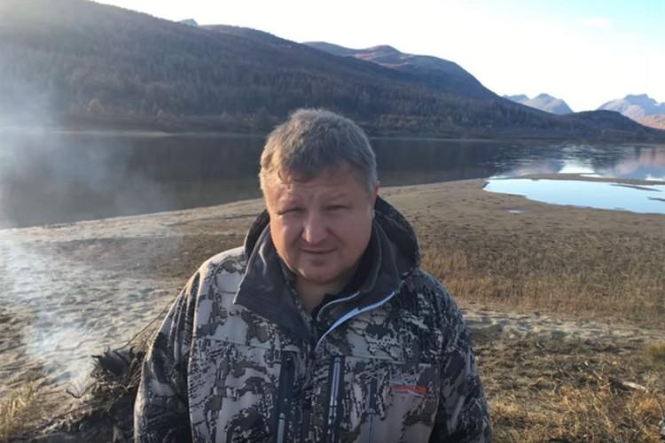 Анатолий Банных на отдыхе на Алтае