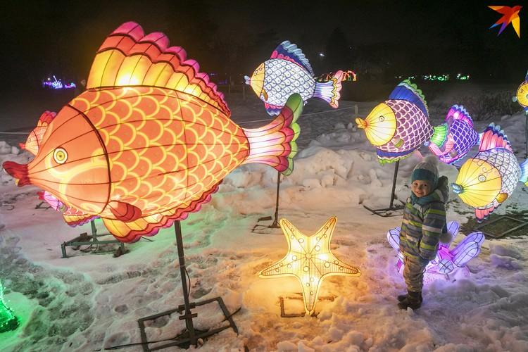 Фестиваль гигантских фонарей.