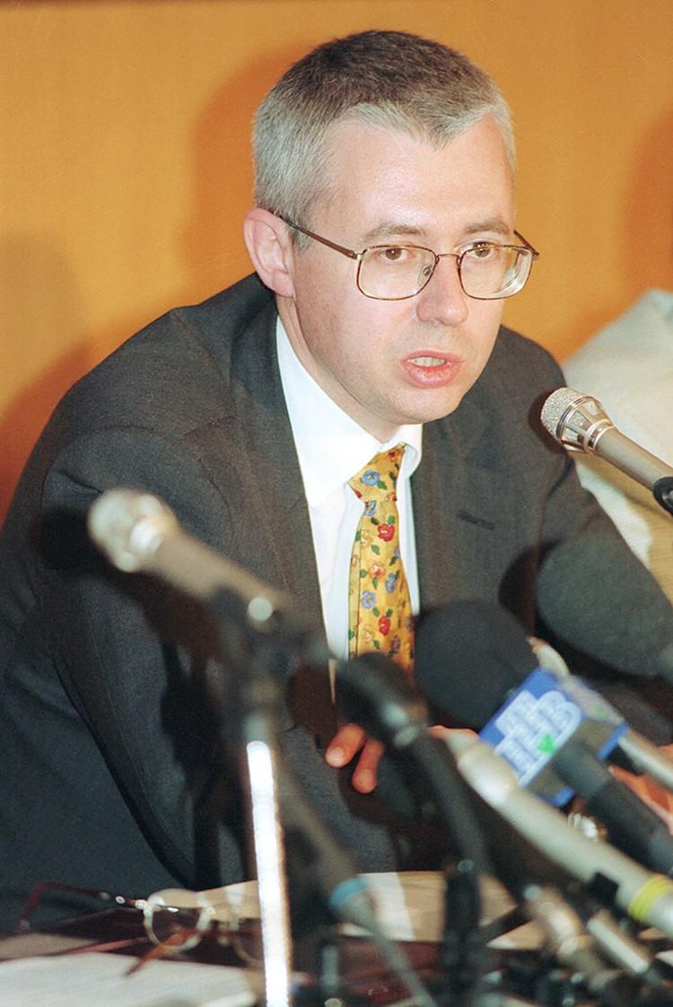 Игорь Малашенко был одним из основателей НТВ. Фото Бориса Кавашкина /ТАСС/