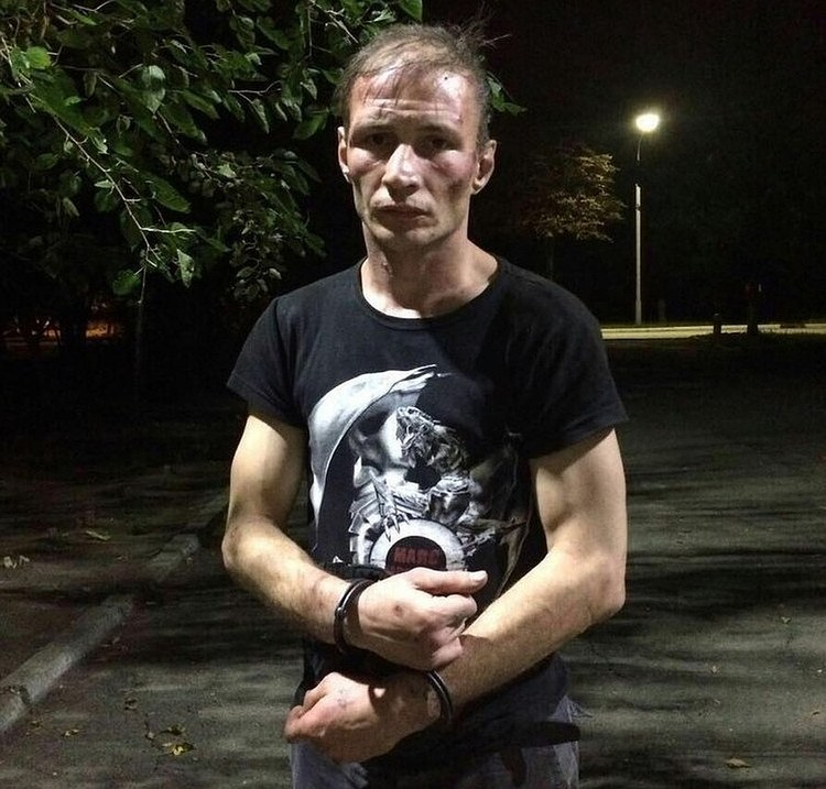 Дмитрия задержали за селфи с останками женщины.