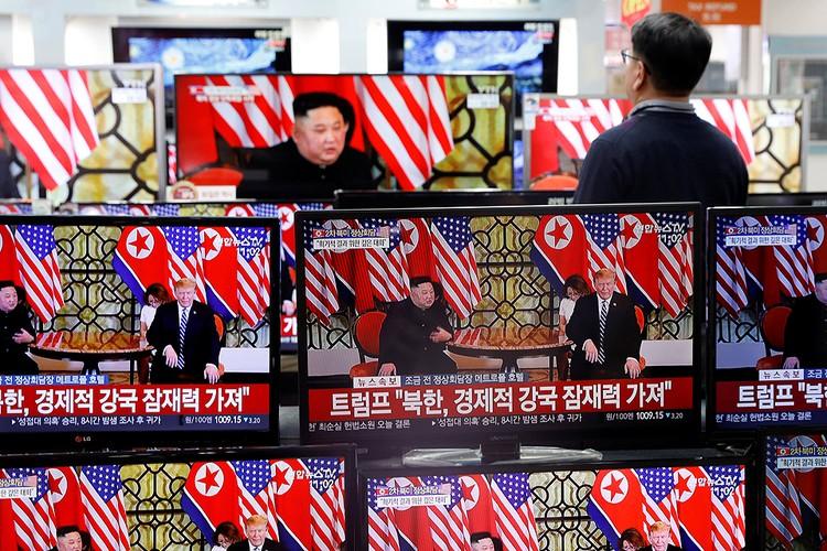 За переговорами в Ханое пристально следили в Южной Корее.
