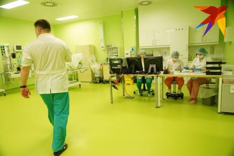 Госпиталь рассчитан на проведение 7000 операций в год.