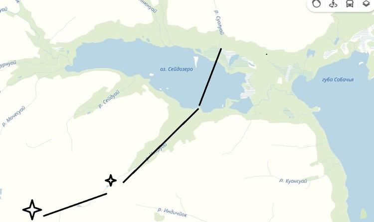 Туристы поднялись по реке Чивруай, и в темноте в сумерках начали подъем на плато