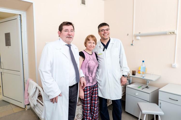 Врачи Александр Чернявский и Иван Поршенников провели провели уникальную операцию.