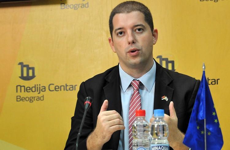 Директор Канцелярии по делам Косово и Метохии Марко Джурич.