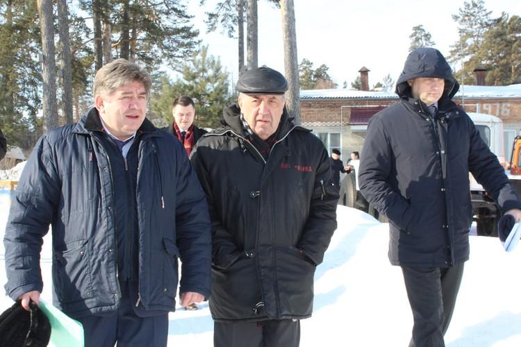 Игорь Шпектор пообещал помочь главе города Бердска с решением проблемы по укреплению берега.