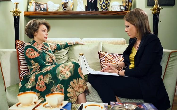 Божена Рынска дала первое интервью после смерти супруга Игоря Малашенко