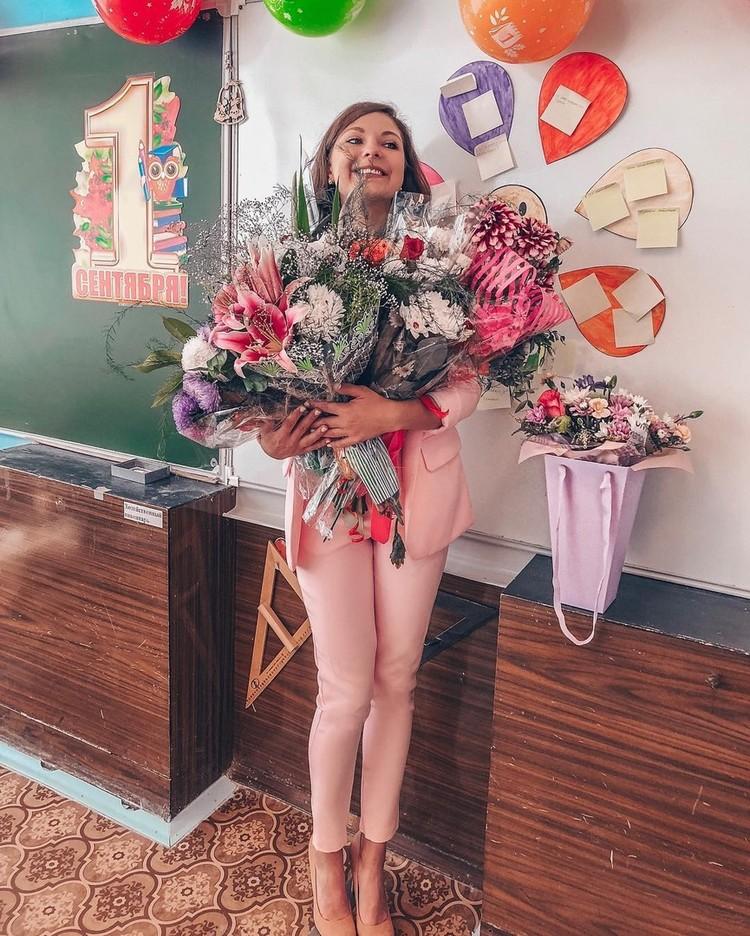 Дети учительницу любили, и даже после увольнения рассказывают ей, как дела в школе. Фото: Дарья Снигирева/Instagram
