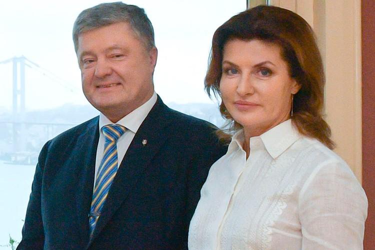 Петр Порошенко с супругой Мариной. Фото president.gov.ua