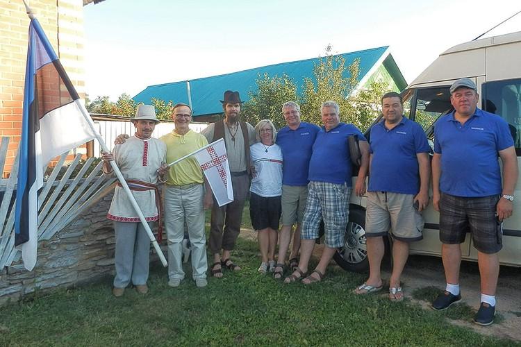 За прошлый год в Удмуртию приехало 6 делегаций из Эстонии. Фото со страницы В.Тарасова Вконтакте