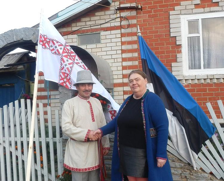 У несуществующего эстонского королевства Сету в Удмуртии есть свой консул, Виталий Тарасов (на фото слева). Фото со страницы В.Тарасова Вконтакте