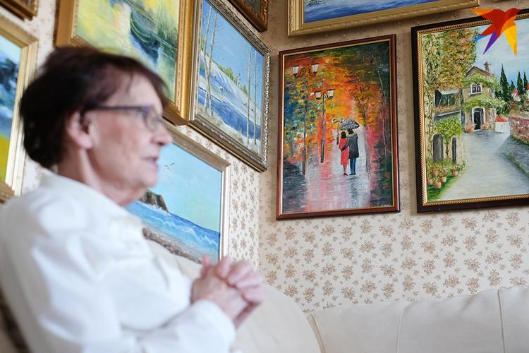 Сейчас у Нины Васильевны есть мысли о персональной выставке.