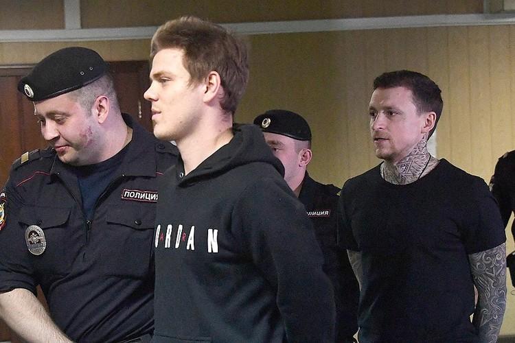 На пятый день суд по делу Кокорина и Мамаева превратился в рутину