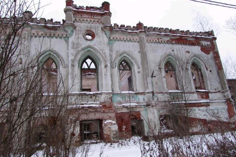 """Усадьба Пасхалова (""""Колосовский замок""""). Фото wikimapia.org"""