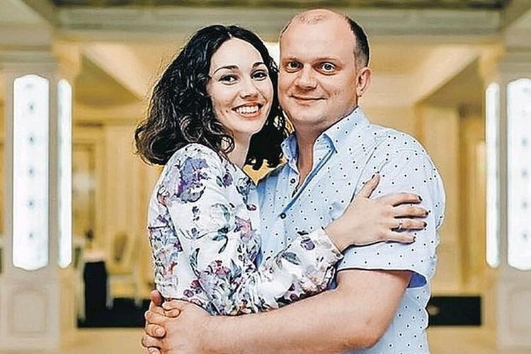 Павел Яромчук со своей женой