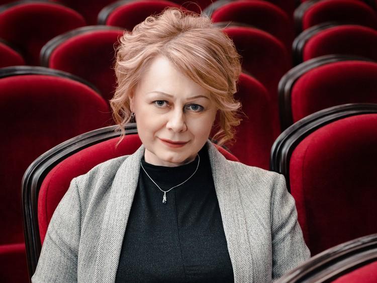 Директор Воркутинского драматического театра Елена Пекарь.