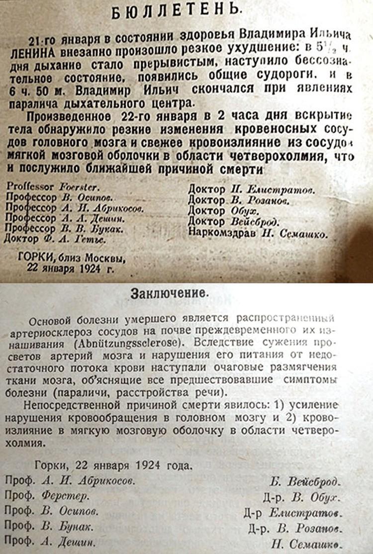 Горки, 1924 г.