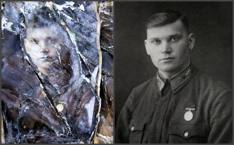 Старый снимок, найденный рядом с солдатом, удалось восстановить. Фото: vk.com/neunivaki