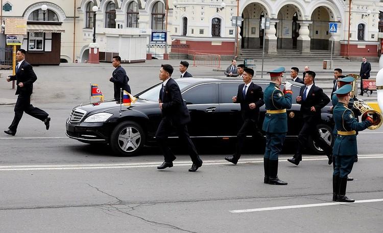 Лимузин главы КНДР.