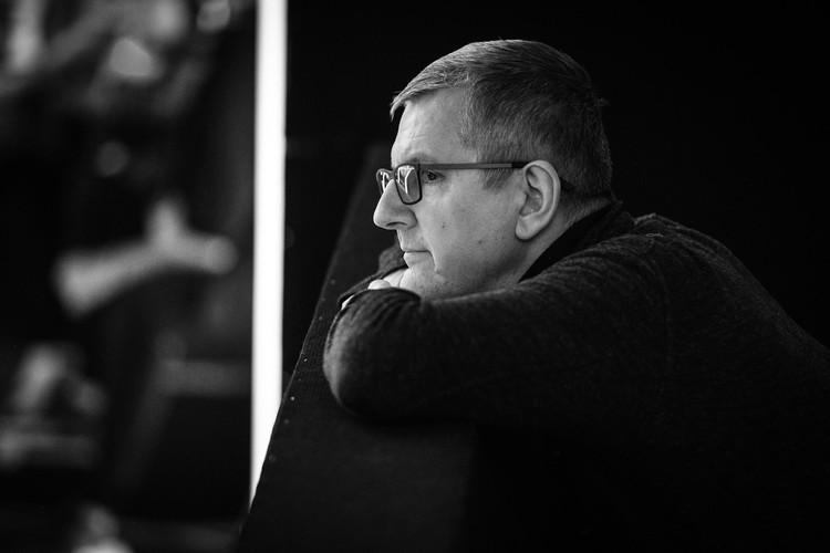 Юрий Аксюта, музыкальный продюсер Первого канала. Фото Максима Ли