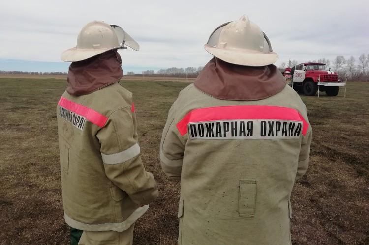 Лесные пожарные находятся в полной боевой готовности
