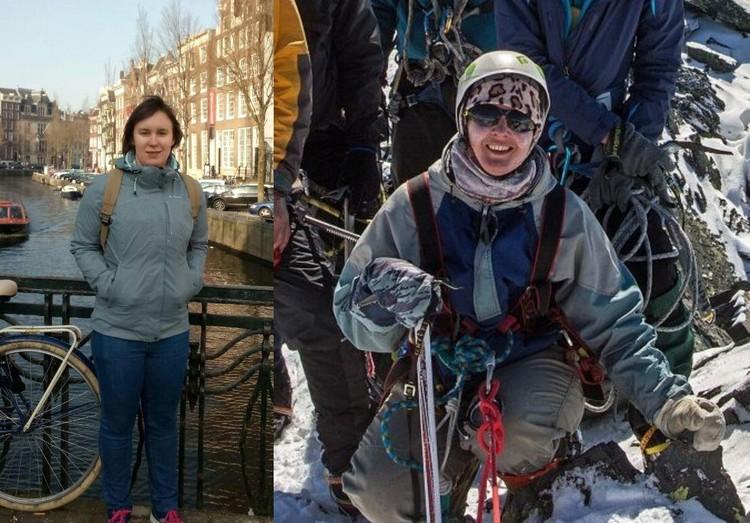 Выжившие девушки - Наталья Антонова и Екатерина Полянская.