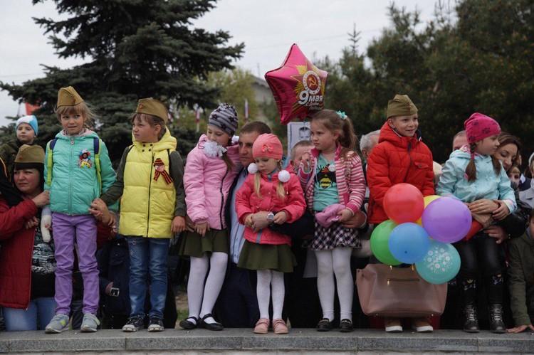 Маленькие зрители в Симферополе.