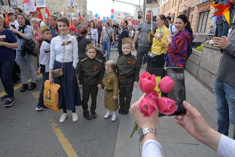 День Победы - праздник для многих поколений Россиян