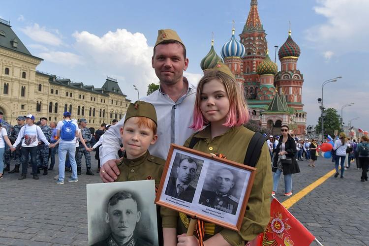 Москвичи всех поколений участвовали в акции памяти