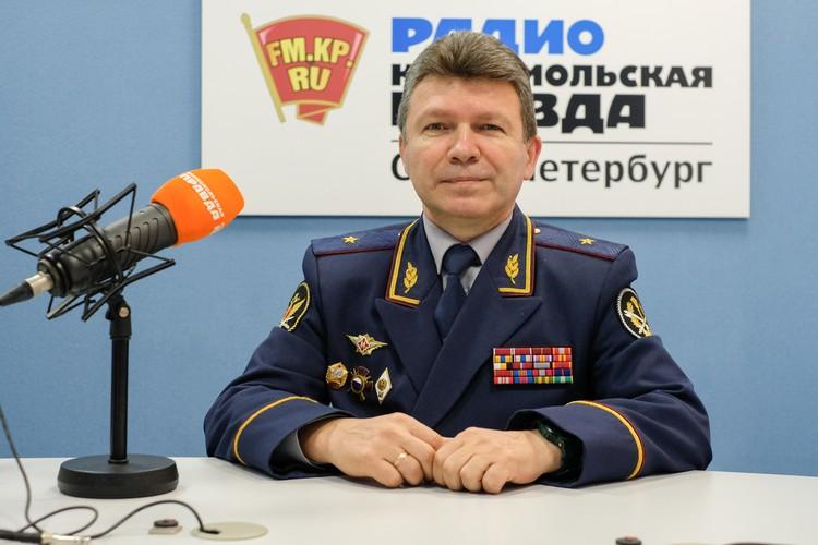 Начальник УФСИН по Санкт-Петербургу и Ленобласти, генерал-майор внутренней службы Игорь Потапенко.