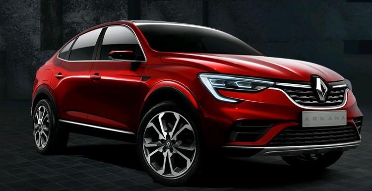 Мировая премьера Renault Arkana состоится в Москве в конце мая. Фото renault.ru