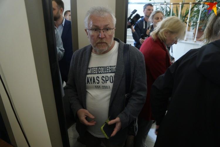 Константин Киселев каждый день выступает за сохранение сквера