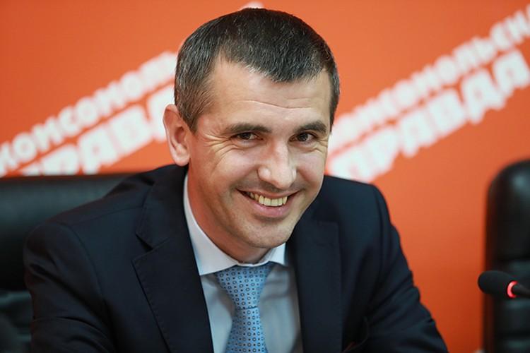 Денис Антонов, заместитель руководителя департамента социального развития