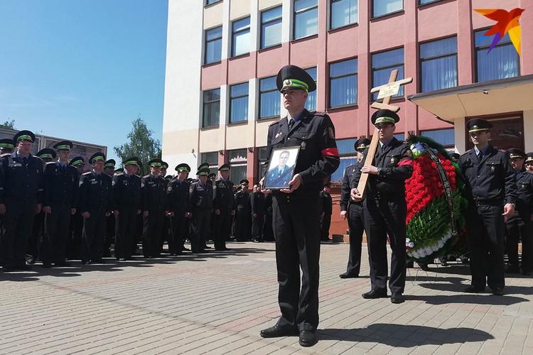 Евгения Потаповича похоронили в субботу, 18 мая