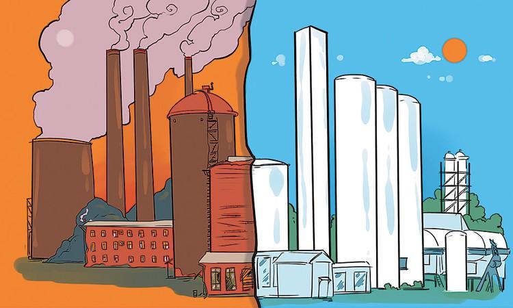 Вредные производства обязаны остаться в прошлом, чтобы не лишить нас будущего. Фото: Ольга КОРДЮКОВА