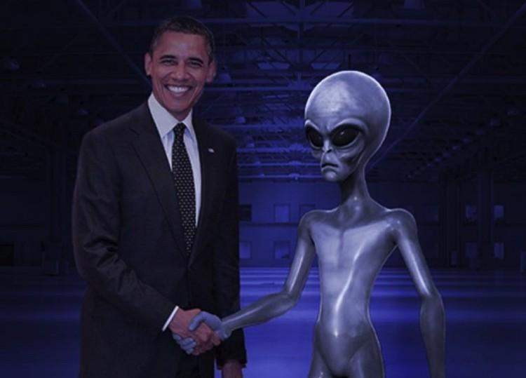 Земляне знают, что делать, если прилетят инопланетяне.