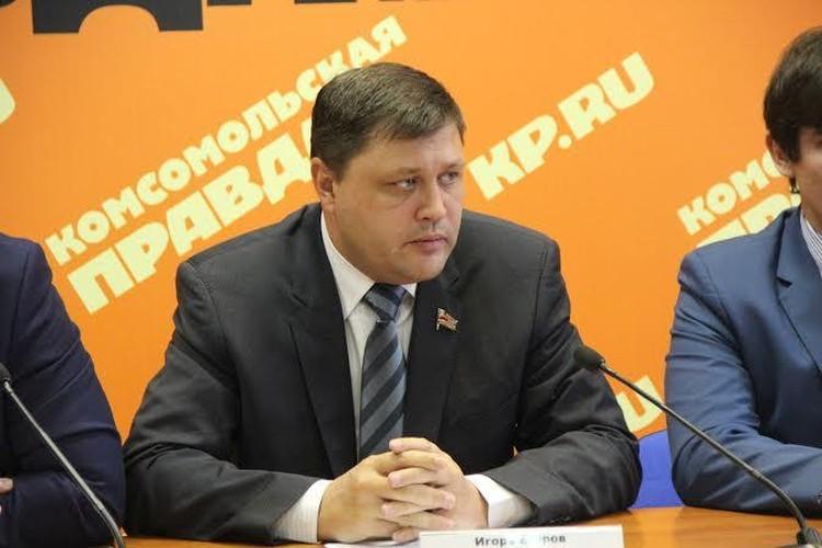 Первый секретарь Челябинского обкома КПРФ Игорь Егоров.