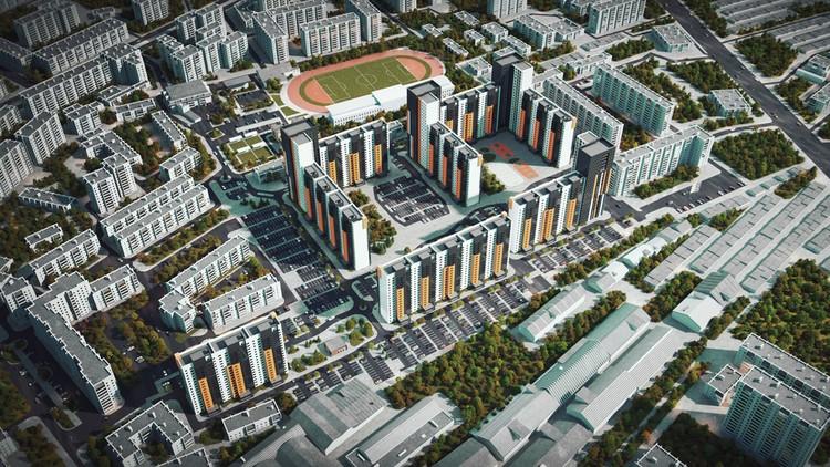 Общий план «Ево Парк»