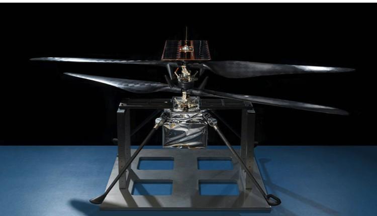 Реальный дрон, который полетит на Марс.