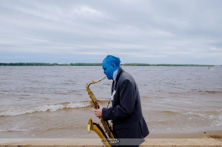 Андрей Шабанов уже несколько лет играет в джазовом оркестре